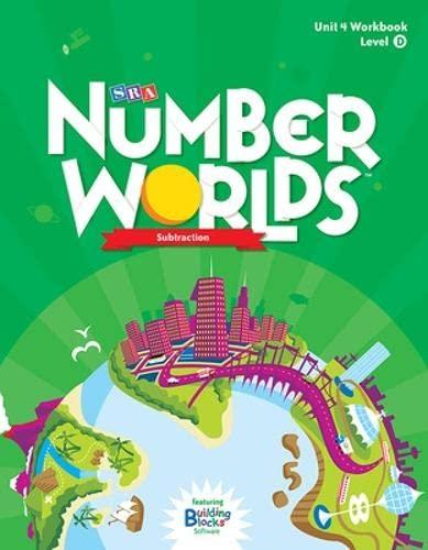 9780076053070: Number Worlds: Student Workbook Level D - Subtraction (5 Pack)