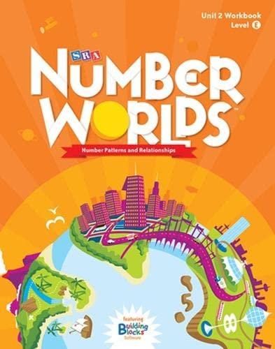 9780076053124: Number Worlds Level E, Student Workbook Number Patterns (5 pack) (NUMBER WORLDS 2007 & 2008)