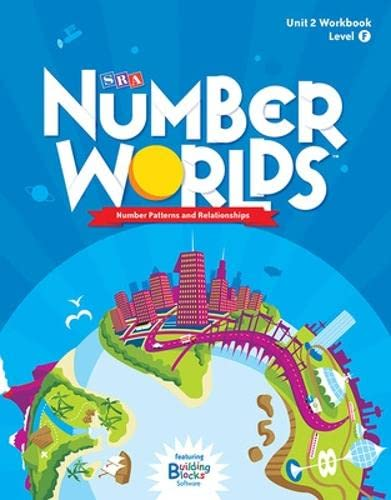 9780076053186: Number Worlds Level F, Student Workbook Number Patterns (5 pack) (NUMBER WORLDS 2007 & 2008)