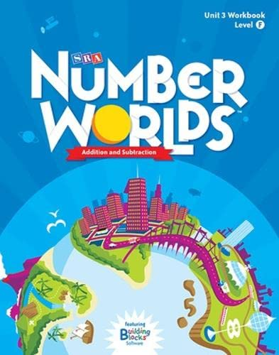 9780076053193: Number Worlds Level F, Student Workbook Addition & Subtraction (5 pack) (NUMBER WORLDS 2007 & 2008)