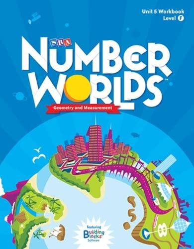 9780076053216: Number Worlds Level F, Student Workbook Geometry (5 pack) (NUMBER WORLDS 2007 & 2008)