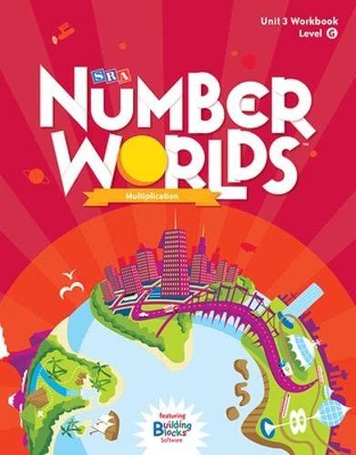 9780076053254: Number Worlds Level G, Student Workbook Multiplication (5 pack) (NUMBER WORLDS 2007 & 2008)