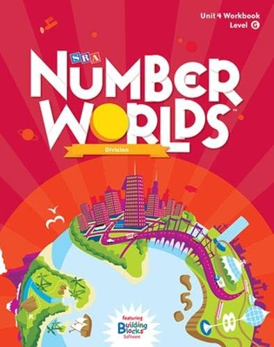9780076053261: Number Worlds: Student Workbook Level G - Division (5 Pack)