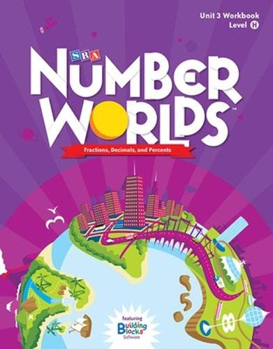 9780076053315: Number Worlds: Student Workbook Level H - Fractions (5 Pack)