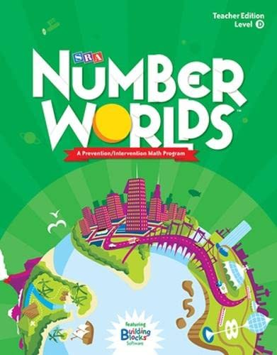 9780076053384: Number Worlds, Level D, Grade Levels 1-2, Teacher Edition