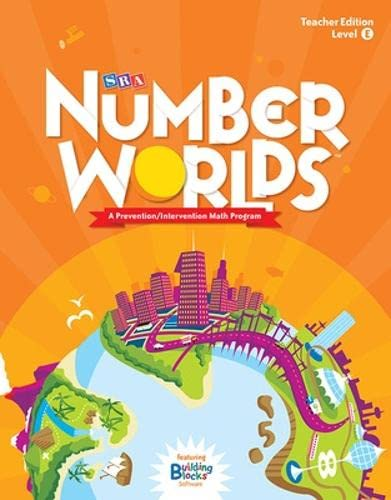 9780076053391: Number Worlds: Level E Teacher Edition