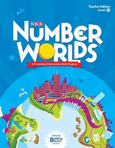 9780076053407: Number Worlds: Level F Teacher Edition