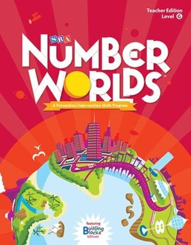 9780076053414: Number Worlds: Level G Teacher Edition