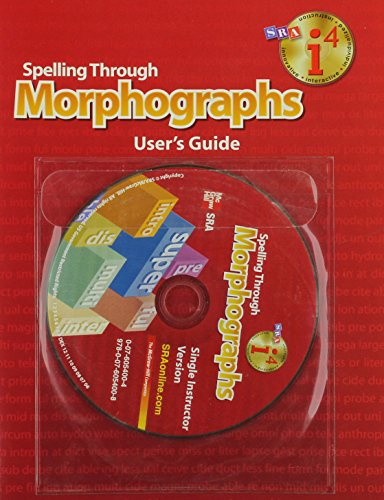 9780076054008: Spelling Through Morphographs - Additional I4 Software Single Instructor Version