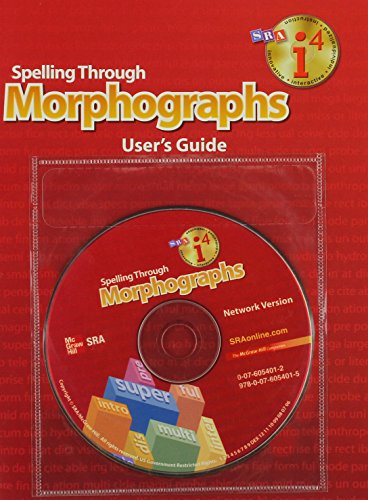 Spelling Through Morphographs - Additional I4 Software Local Area Network (LAN) Version: ...