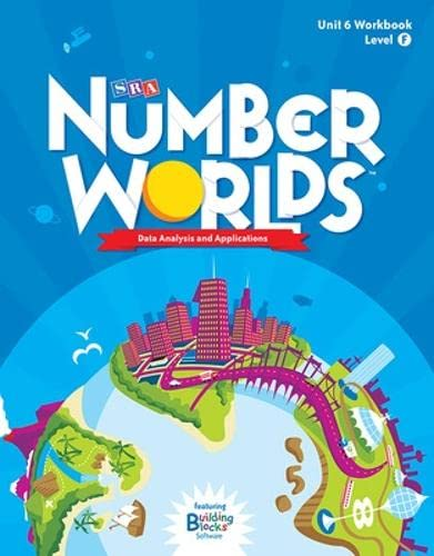 9780076054039: Number Worlds Level F, Student Workbook Data Analysis (5 pack) (NUMBER WORLDS 2007 & 2008)