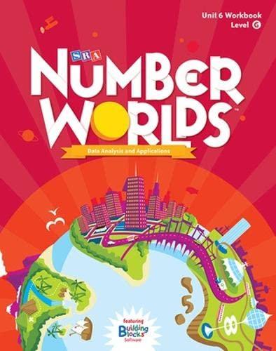 9780076054046: Number Worlds: Student Workbook Level G - Data Analysis (5 Pack)