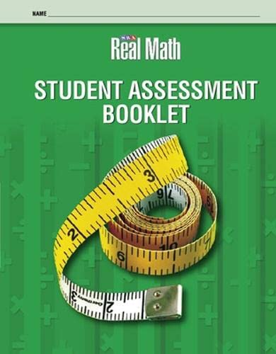 9780076056644: Real Math Student Assessment Booklet - Grade 2