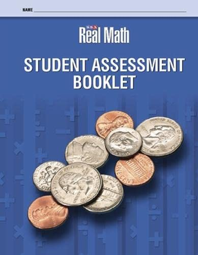 9780076056651: SRA Real Math, Grade 3: Student Assessment Booklet