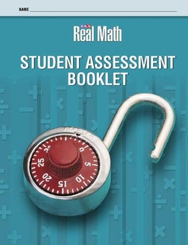 9780076056675: Real Math - Student Assessment Booklet - Grade 5
