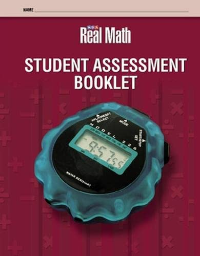 Real Math - Student Assessment Booklet -: SRA
