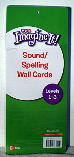 9780076061853: Imagine It!, Sound/Spelling Wall Cards, Grades 1-3