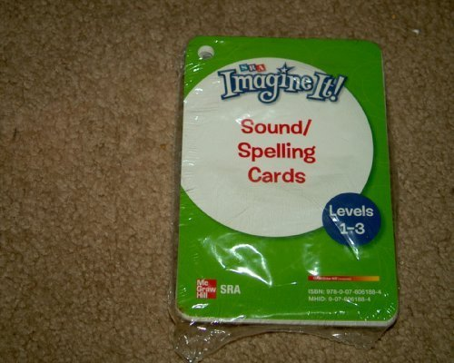 9780076061884: Imagine It!, Sound/Spelling Cards, Levels 1-3