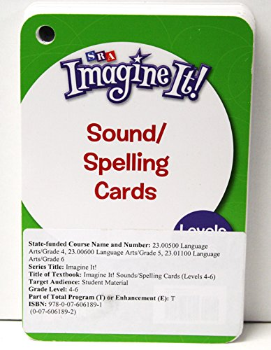 9780076061891: Sound/Spelling Cards, Levels 4-6