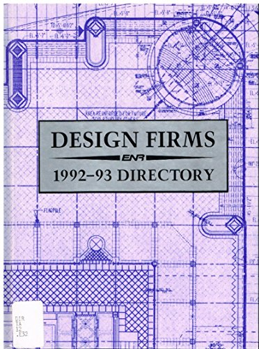 9780076070657: Enr Directory of Design Firms 1992-93 (E N R Top 500 Design Firms)