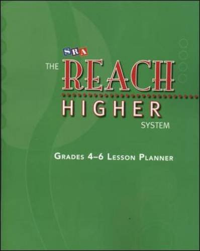 The Reach Higher System - Lesson Planner: Sra Mcgraw Hill