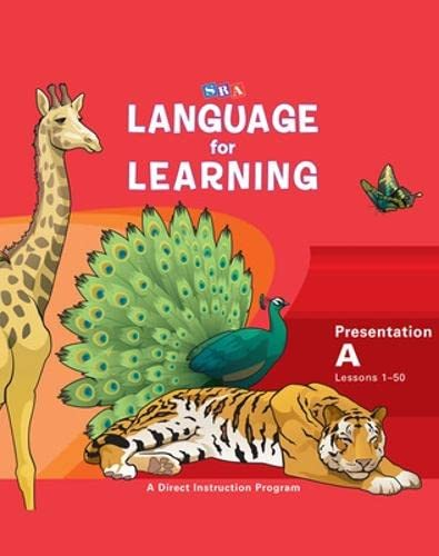 9780076094233: Language for Learning: Presentation Book A