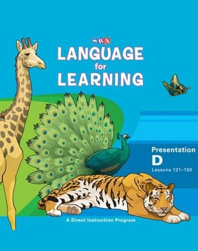 9780076094264: Language for Learning - Presentation Book D (Cursive Writing)