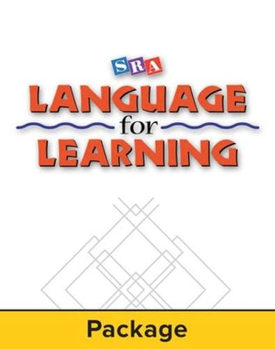 9780076094271: Language for Learning - Teacher Materials Kit