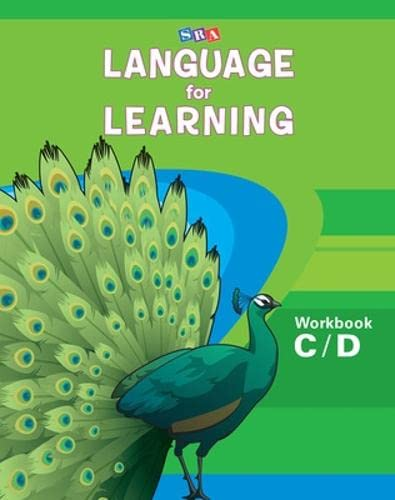 9780076094295: Language for Learning, Workbook C & D (DISTAR LANGUAGE SERIES)