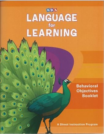 9780076094318: Language for Learning Behavioral Objectives Booklet