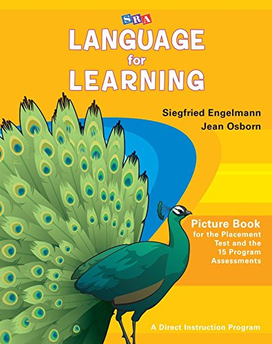9780076094325: Language for Learning Picture Book for the Placement Test and the 15 Program Assessments