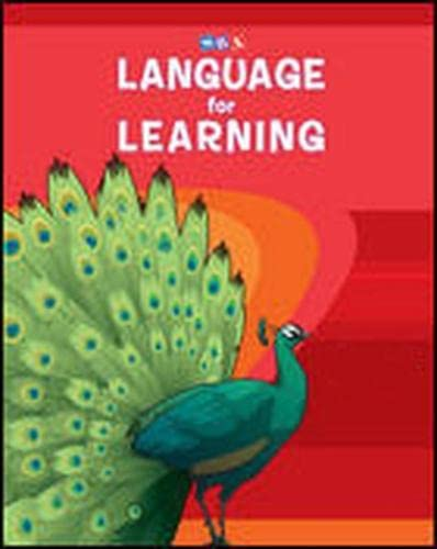 9780076094479: Language for Learning - Series Guide