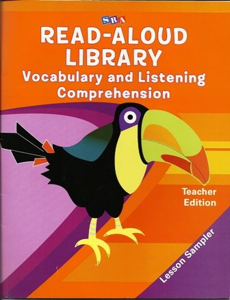 9780076094530: SRA Read-Aloud Library Vocabulary and Listening Comprehension Teacher Edition Lesson Sampler