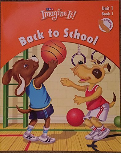 9780076096053: SRA Imagine It Back to School, Unit 1, Book 1