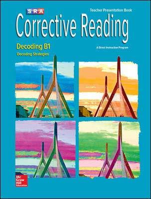 9780076096763: Corrective Reading - Decoding B1 - Teacher's Presentation Book (Decoding Strategies)