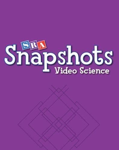 9780076096909: SRA Snapshots Video Science DVD Set - Level B