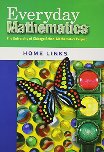 9780076097371: Everyday Mathematics Home Links Kindergarten K