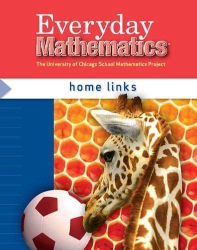 9780076097388: Everyday Mathematics Home Links Grade 1