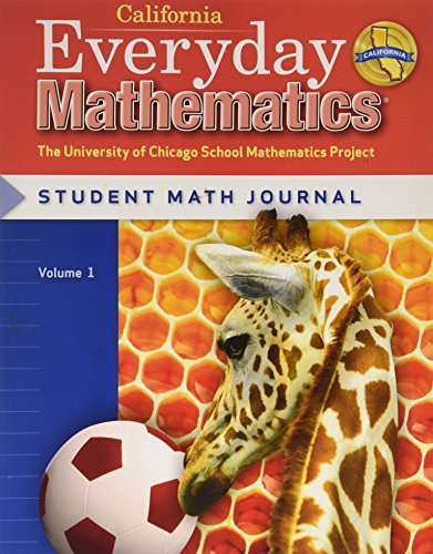 9780076097876: Everyday Mathematics: Journal 1 Grade 1 California