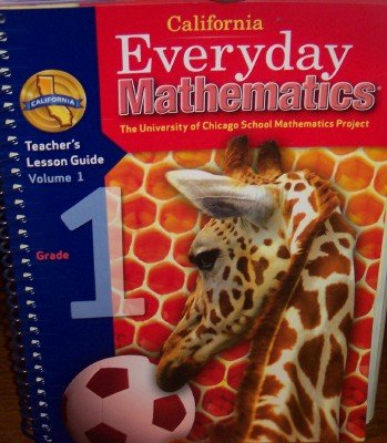 9780076097906: California Everyday Mathematics Teacher's Lesson Guide Grade 1 (UCSMP, Volume 1)