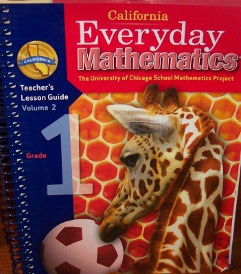 California Everyday Mathematics Teacher's Lesson Guide Grade 1 (UCSMP, Volume 2): Max Bell