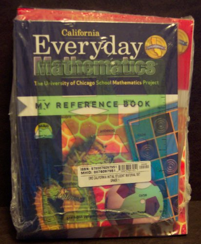 9780076097951: Everyday Mathematics 1st Grade Student Reference Book + Student Math Journal, Volumes 1 & 2, Geometry Template by University of Chicago School Mathematics Project (Everyday Mathematics Student Reference Book + Student Math Journal, Volumes 1 & 2, Geometry, 1st Grade)