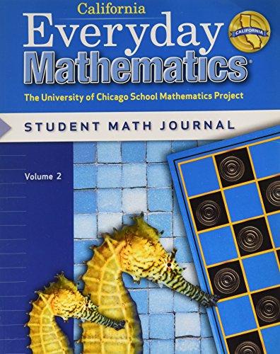 Everyday Mathematics: Journal 2 Grade 2 California: Bell, Max
