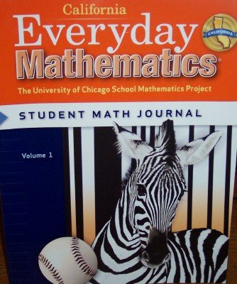 9780076098064: California Everyday Mathematics Student Math Journal Grade 3 (UCSMP, Volume 1)