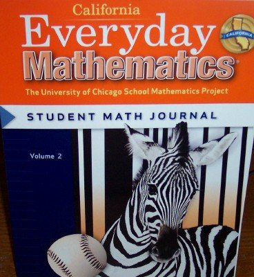 9780076098071: California Everyday Mathematics Student Math Journal Grade 3 (UCSMP)