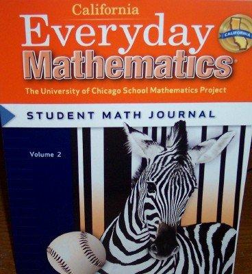 9780076098071: California Everyday Mathematics Student Math Journal Grade 3 (UCSMP)