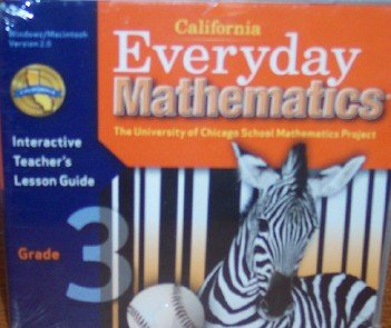 9780076098125: Interactive Teacher's Lesson Guide Grade 3 (Everyday Mathematics)