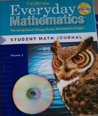 9780076098262: Everyday Mathematics Grade 5 California Student Math Journal Volume 1 (The University of Chicago School Mathematics Project)