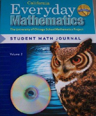 9780076098279: Everyday Mathematics Grade 5 California Student Math Journal Volume 2 (The University of Chicago School Mathematics Project)
