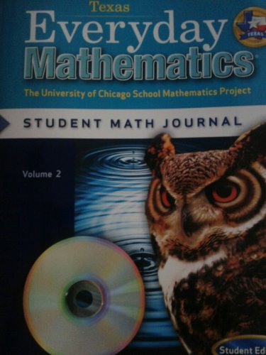 9780076099030: Everyday Mathematics (Texas) Student Math Journal Grade 5 (The University of Chicago School Mathematics Project: Student Edition, Volume 2)